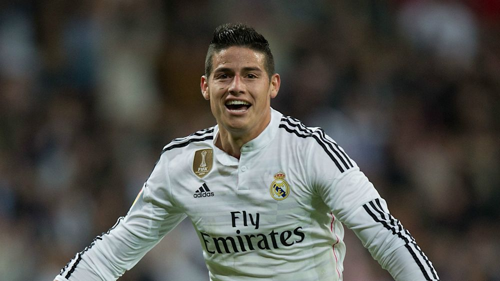 Real Madrid, la valeur de James Rodriguez en baisse