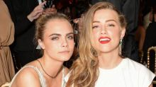 Are Cara Delevingne and Amber Heard dating?