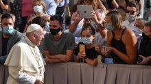 El papa recuerda al sacerdote italiano asesinado por un indigente en Como