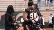 Beavers: Isaac Hodgins gets engaged following Oregon State's Spring Game