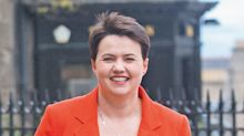 Ruth Davidson: 'I don't know what life will look like once the baby is born'