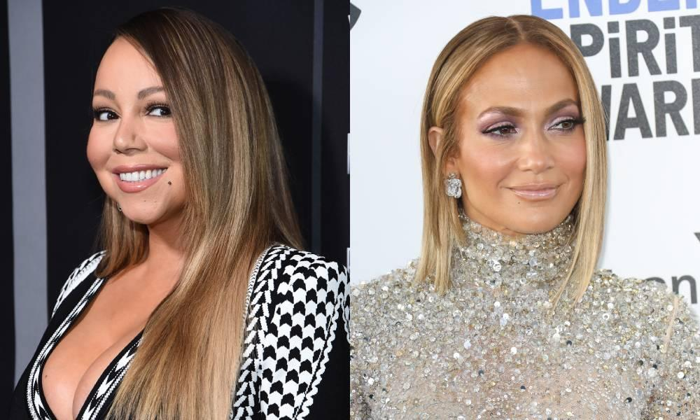 The way Mariah Carey shades Jennifer Lopez in her new ...