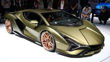 Lamborghini Sian's supercapacitor hybrid system explained by company's CTO