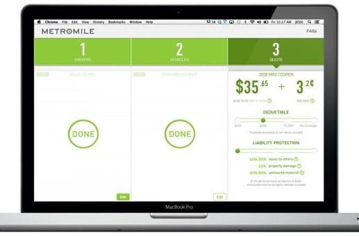 MetroMile launches pay-per-mile car insurance, trades a sliver of privacy for savings