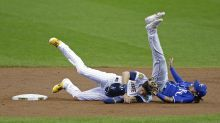 Vogelbach belts two homers as Brewers down Royals 5-3