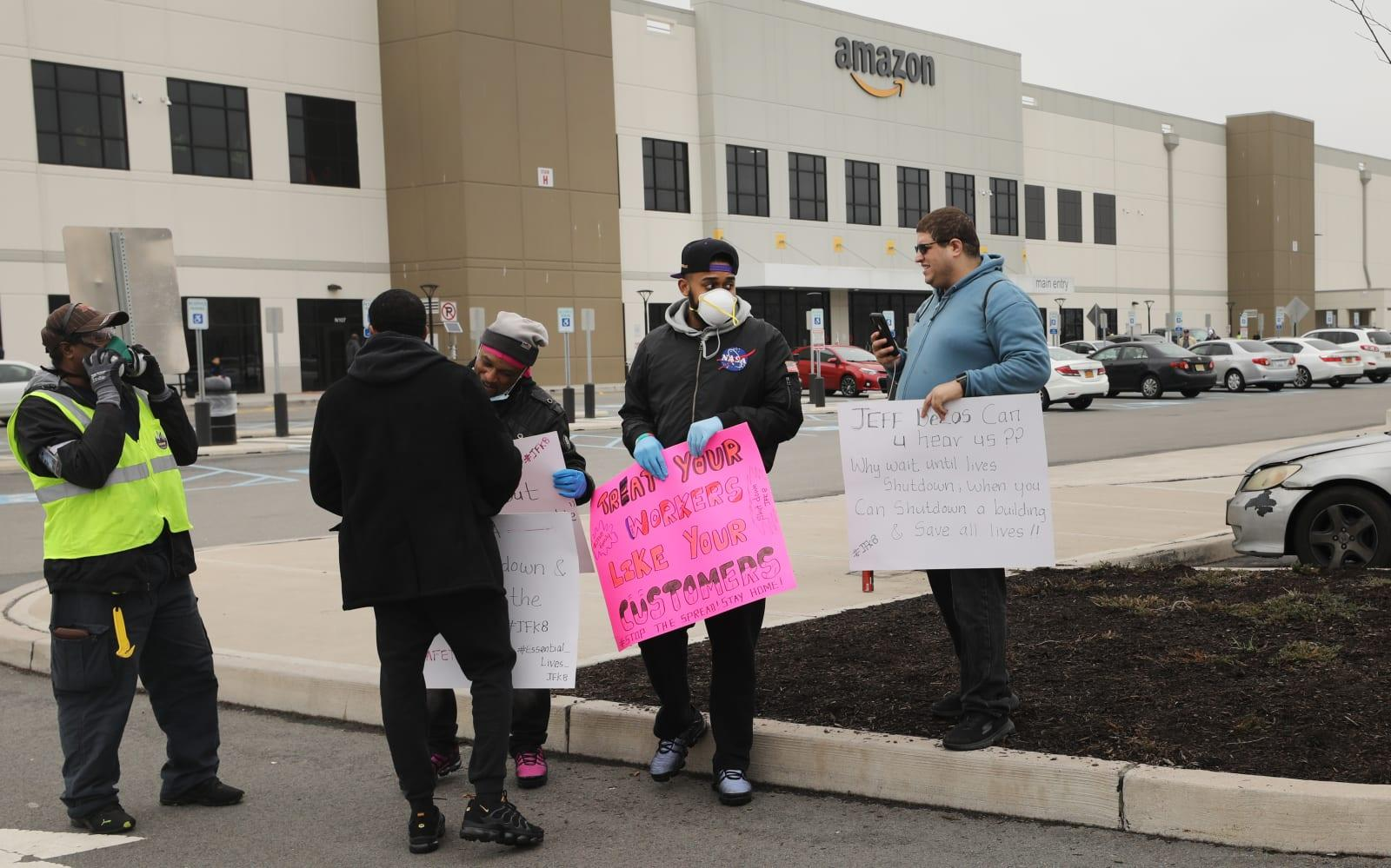 Amazon responds to backlash with increased protection for workers