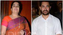 Video: Aamir Khan rings in ex-wife Reena Dutta's 50th birthday