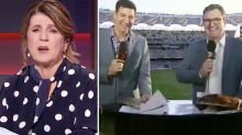 Uproar over Channel 7 host's 'pathetic' joke about wife