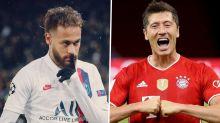 Neymar x Lewandowski: quem participou de mais gols na Liga dos Campeões?