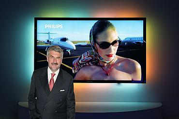 IFA 2006: Philips shows off 100-inch Ambilight display