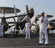 U.S. sends carriers to South China Sea during Chinese military drills