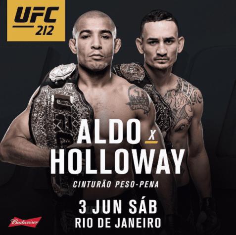 José Aldo publica foto 'bruto' antes de defesa de cinturão no UFC Rio