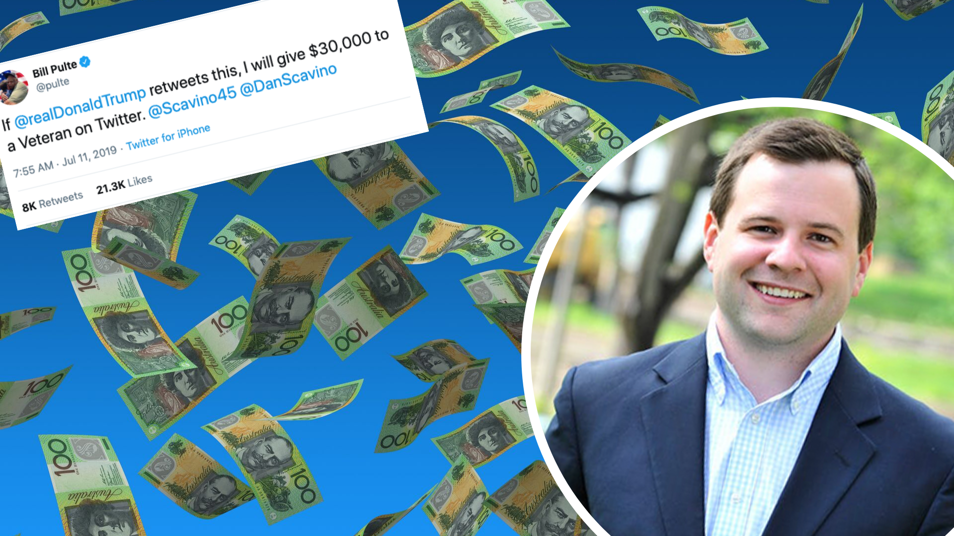 This millionaire is literally giving away his money on Twitter