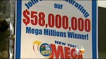 Winning $58M Mega Millions Ticket Sold In Penn Station