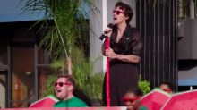 Corden Guest-Host Harry Styles and His Ridiculous Pants Perform 'Crosswalk the Concert' (Video)