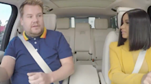 Please Do Enjoy This Clip of Cardi B Crashing a Car During 'Carpool Karaoke' with James Corden
