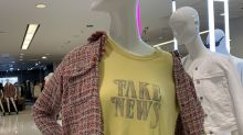Bloomingdale's apologizes for 'Fake News' shirt after reporter says it 'delegitimizes' journalism