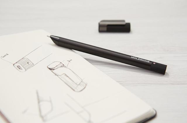 Moleskine's latest smart pen saves your writing to download later