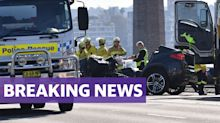 Woman killed in horror Sydney Harbour Bridge crash, two others critical
