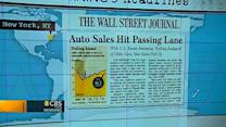 Headlines: Auto sales expected to hit four-year high