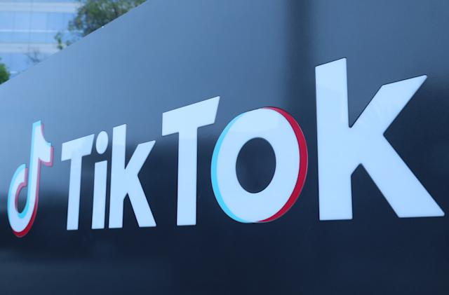 TikTok is banning accounts that share QAnon-related content
