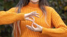 Glove translates sign language into speech via an app