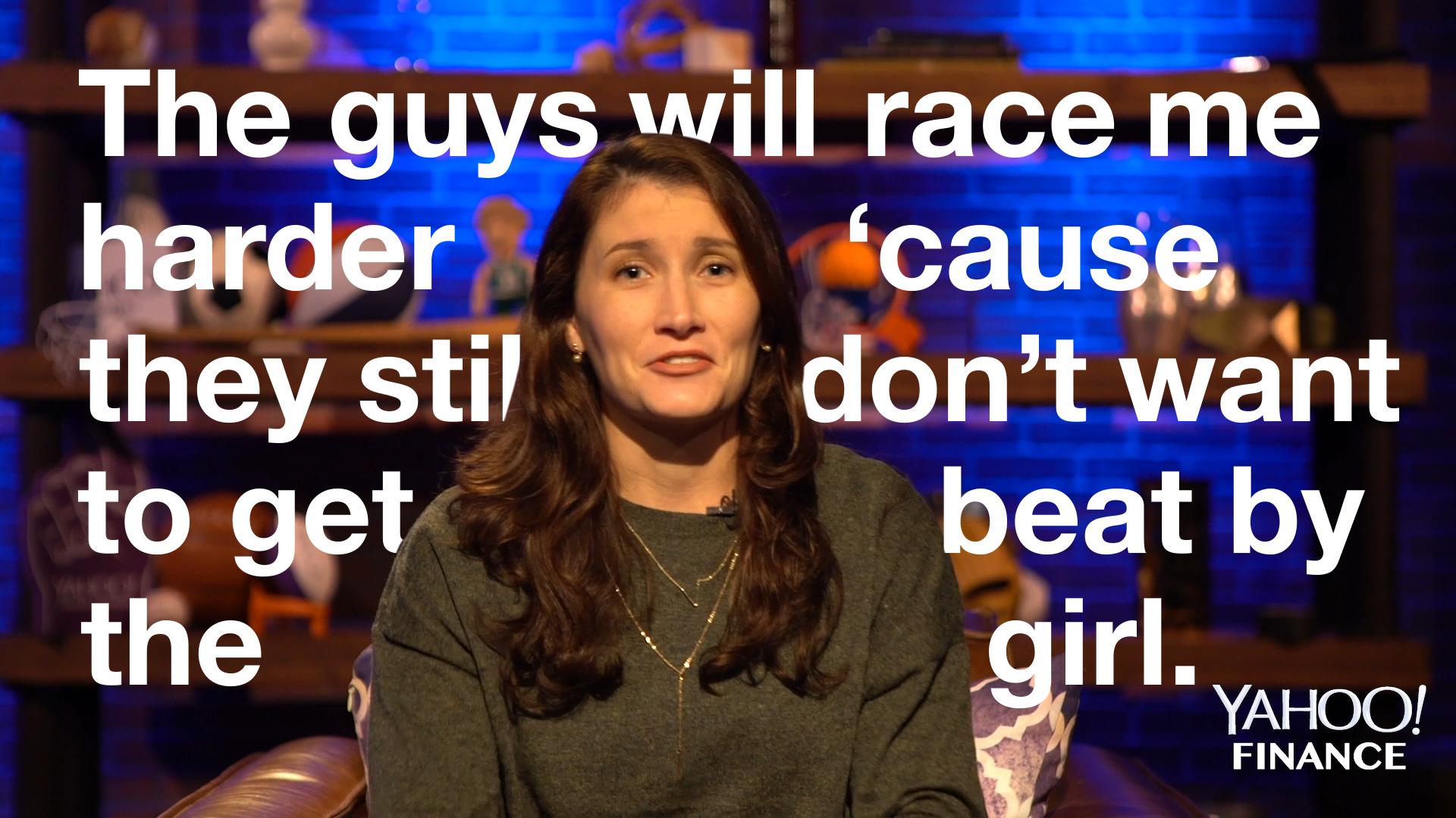 NASCAR driver Julia Landauer describes the importance of 'male allies'