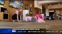 Toddler yoga classes offer flexibility and fun