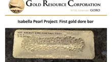 Gold Resource Corporation Produces First Isabella Pearl Gold
