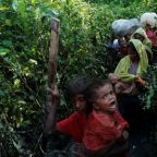 Thousands of new Rohingya refugees flee violence, hunger in Myanmar for Bangladesh