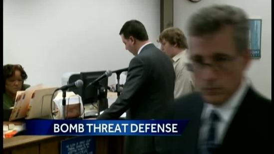 Greendale student accused of bomb threat pleads not guilty, says he's victim