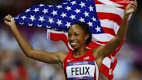 Allyson Felix talks about reaching her dreams