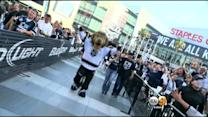 Kings Fans Celebrate Victory At LA Live