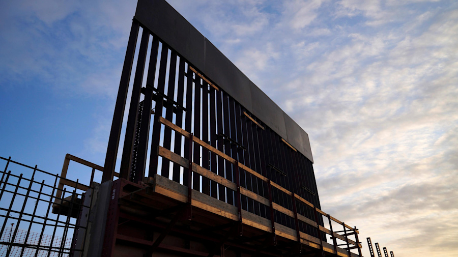 Judge halts use of military funds for border wall