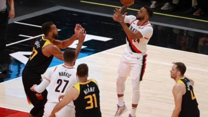 Basket - NBA - Dallas et Portland au coude à coude à l'Ouest en NBA