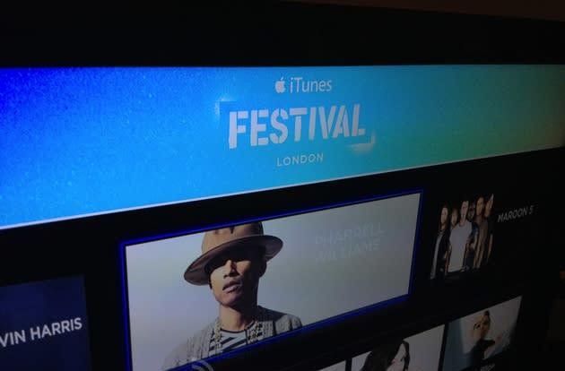 iTunes Festival app arrives on Apple TV for London's month of music