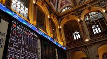 El IBEX opta por las ventas a mediodía y pierde la cota de los 9.600 puntos