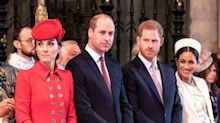 Meghan, Harry, William and Kate change plans last minute for today's Commonwealth Day service
