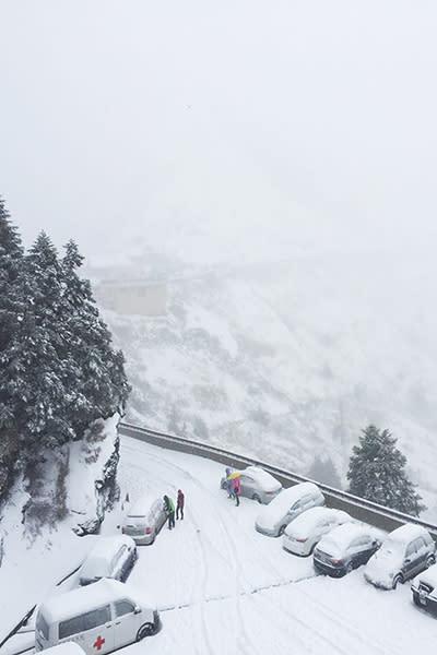 松雪樓雪景 (圖/松雪樓餐廳)
