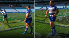 Controversy erupts over NRL star's two-second reserve grade cameo
