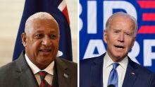 Fiji's PM Congratulates Joe Biden Before US Election Result Even Announced
