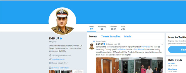 Class X Boy Creates Fake Twitter Account of UP DGP, Cops Follow His Directions