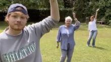 Dame Judi Dench becomes surprise TikTok star