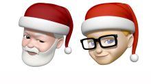 Apple iOS 為慶賀聖誕節推出聖誕老人版 Animoji