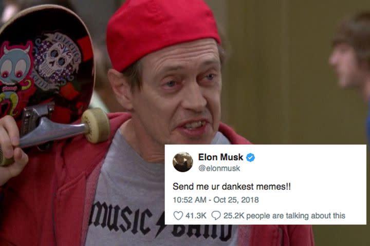 Grown Man Elon Musk Puts Out A Call For Ur Dankest Memes