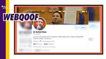 Fake Twitter Account of Kafeel Khan Gains Traction After Bail