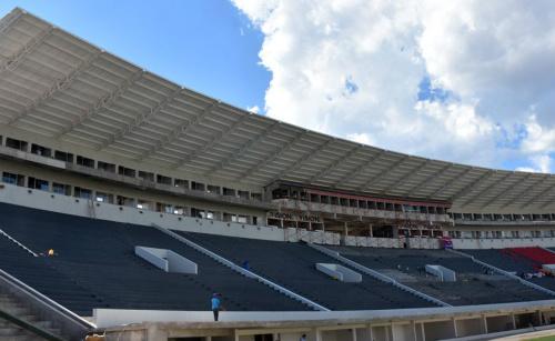 Se reanudaron los trabajos en el estadio 'La Nueva Olla'