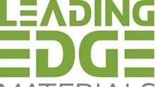 Leading Edge Materials Announces Changes to Board of Directors and Management