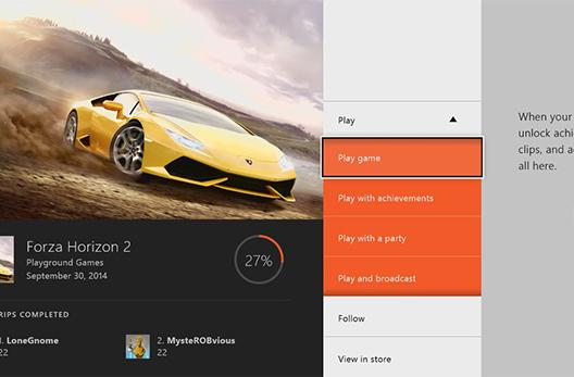Xbox One game hubs deliver streams and content for your favorite titles