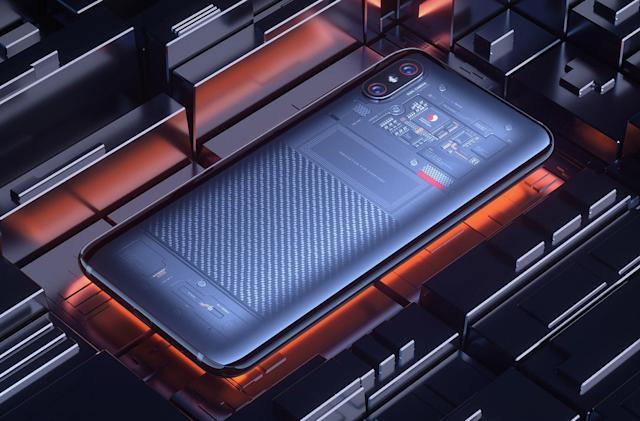 Xiaomi's transparent Mi 8 also does 3D face unlock